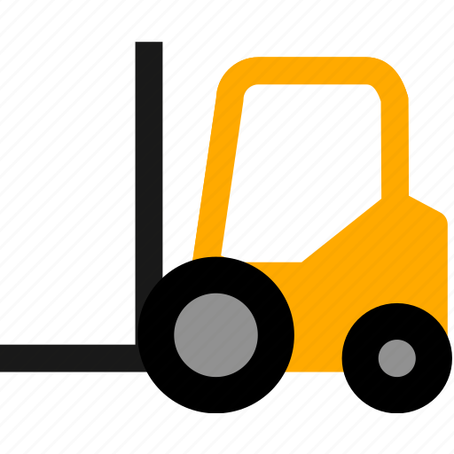 car, cargo, delivery, forklift, logistic, logistics, package icon