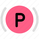 parking, vehicle icon