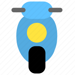 moto, motorbike, motorcycle, scooter icon