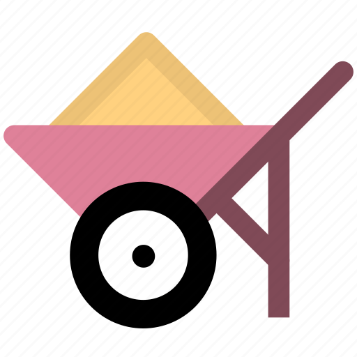 cart, transport, vehicle icon