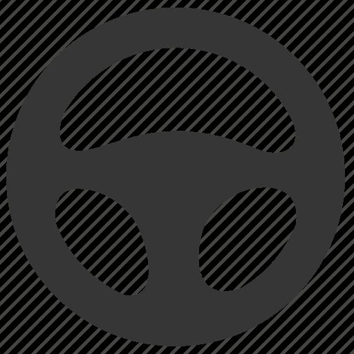 steering, vehicle, wheel icon