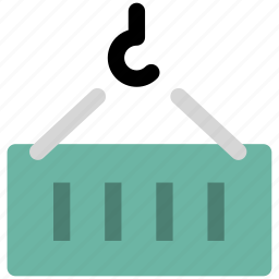 cargo, container, logistics, shipment, shipping icon