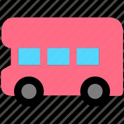 bus, coach, public, vehicle icon
