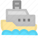 cargo, cruise, ship, shipping, transport icon