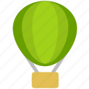balloon, fire balloon icon