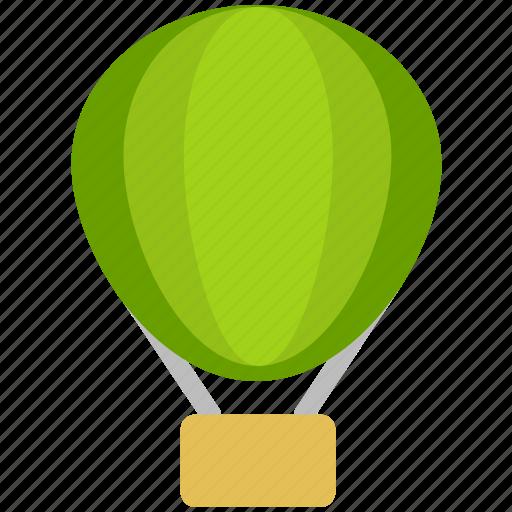 balloon, fire balloon icon