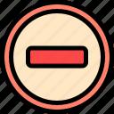 driving, forbidden, school, sign icon