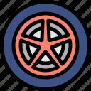 drive, driving, school, wheel icon
