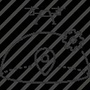 airspace, drone, location, settings, uav