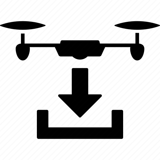 arrival, copter, drone, landing, nanocopter, parking, quadcopter icon