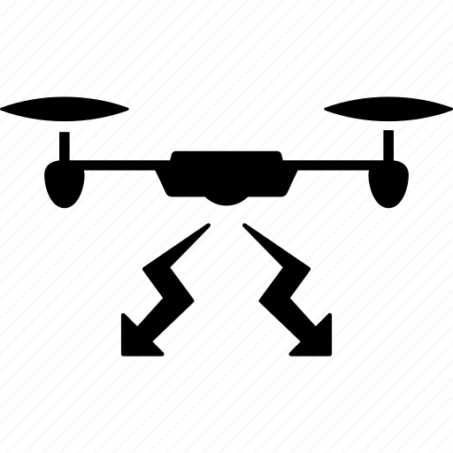 copter, drone, military, quadcopter, strike, war, weapon icon