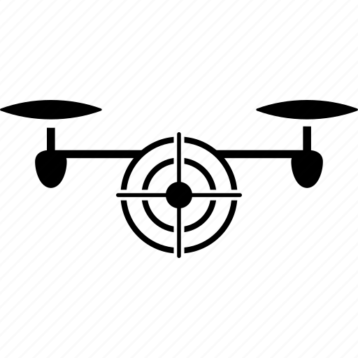 aim, copter, drone, goal, nanocopter, quadcopter, target icon