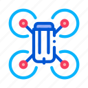 application, helicopter, flying, toy, quadrocopter, drone, smartphone icon