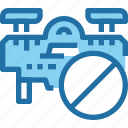 delivery, drone, flying, robot, transport, vehicle icon