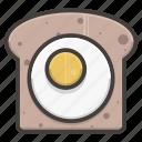 bread, if, slice icon