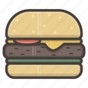 hamburger, if, small icon