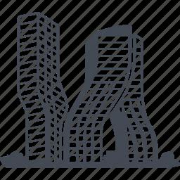 building, construction, dubai, house icon