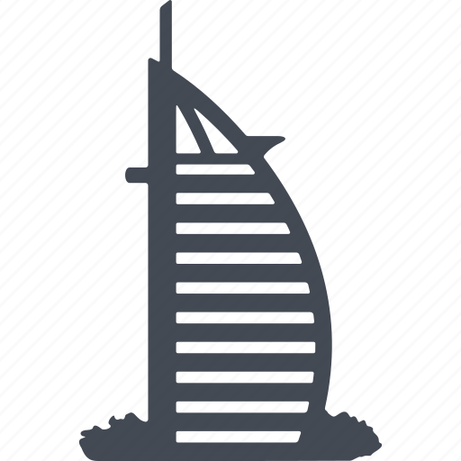 building, construction, dubai, house, structure icon