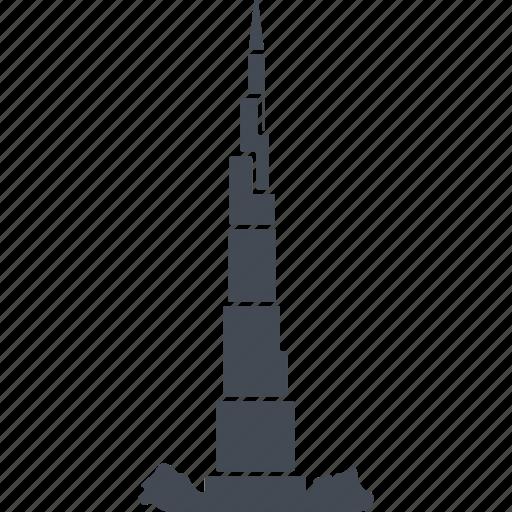 building, dubai, hotel, service icon