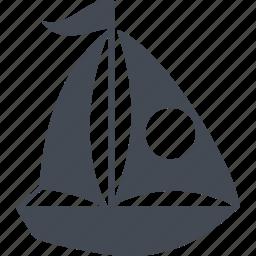 cruise, dubai, recreation, yacht icon
