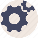 configuration, control, controls, duotone, gear, gears, option, options, preferences, settings, system, tools icon