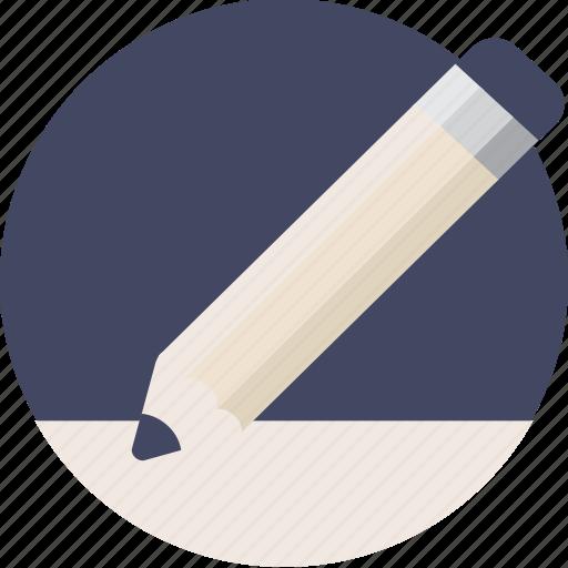 document, duotone, edit, file, paper, pen, pencil, write icon
