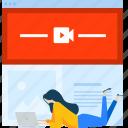 marketing, media, movie, network, social, streaming, video