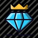 crown, diamond, jewel, premium, vip