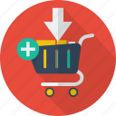 add, add to cart, buy, cart, commerce, sale icon