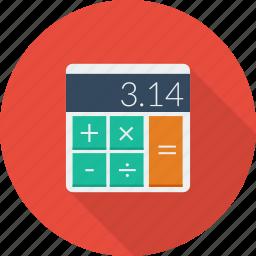 business, calculator, digital, electronic, mathematics icon