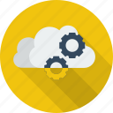 cloud, cloud service, data, network, service, technology icon