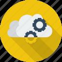 cloud, cloud service, data, network, service, technology icon