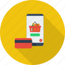 mobile, mobile transaction, money, payment, purchase, transaction icon