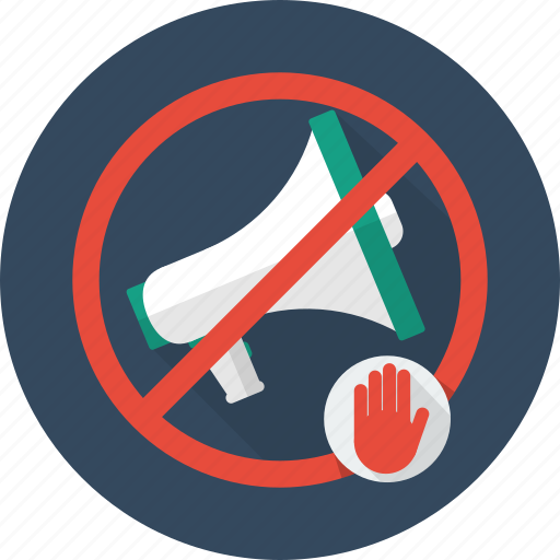 concepts, no advertisement, notice, sign icon