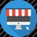 business, e-commerce, online, online shop, payment, shop, technology icon