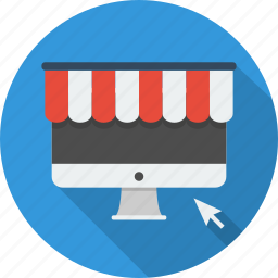 business, e-commerce, online, online shop, payment, shop, technology icon