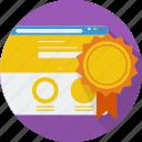 concept, shield, site, trusted, trusted site, trustworthy, verify icon