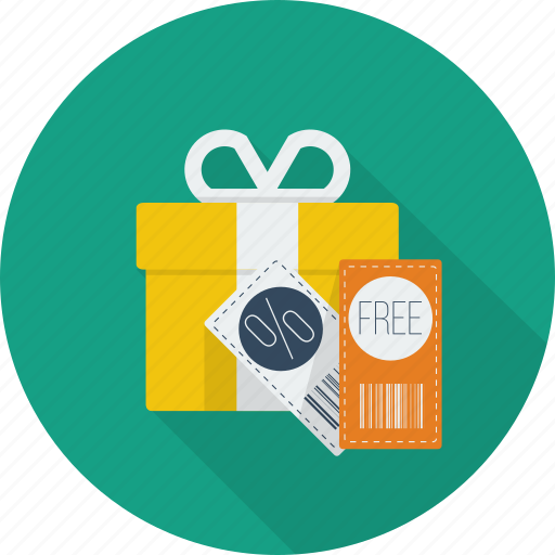 code, discount, gift, promotion, promotional, voucher, voucher gift code icon