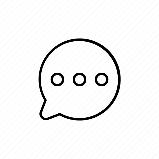 bubble, chat, discussion, message icon