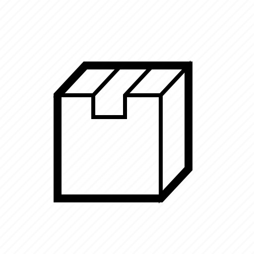 box, delivery, logistics, package, parcel, shipping icon