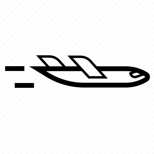 Delivery, e-commerce, plane, shipping, transport, travel, vehicle icon - Download on Iconfinder