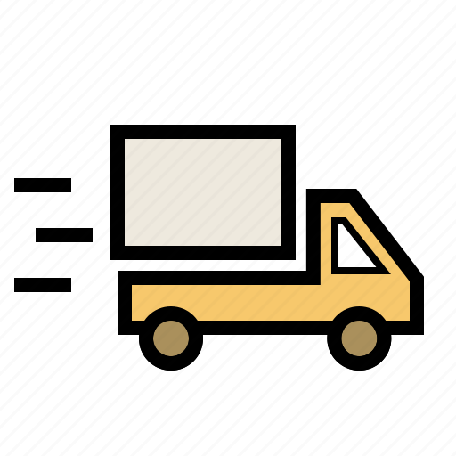 delivery, logistics, shipping, transport, transportation, truck, vehicle icon