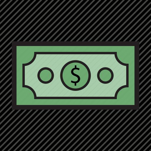 cash, dollar, finance, financial, money, payment icon