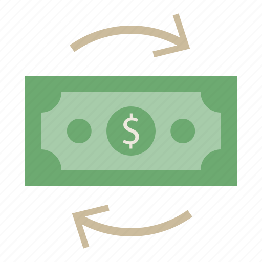 cash, dollar, finance, financial, money, payment, transaction icon