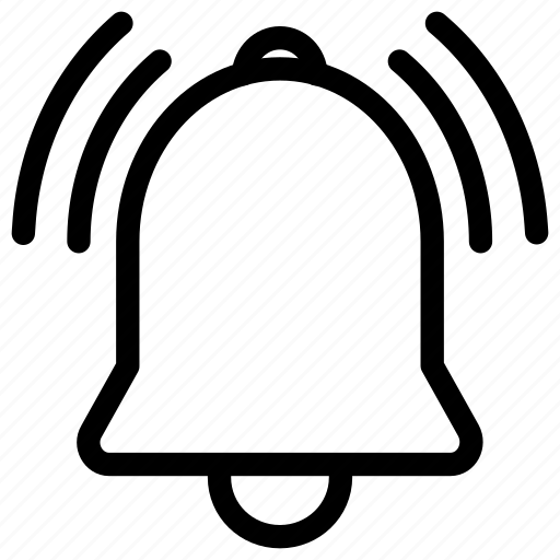 bell, commerce, ecommerce, notification, shopping icon