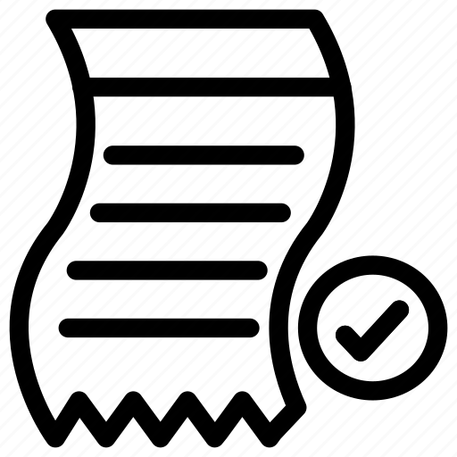 bill, chart list, ecommerce, invoice, list, shopping icon