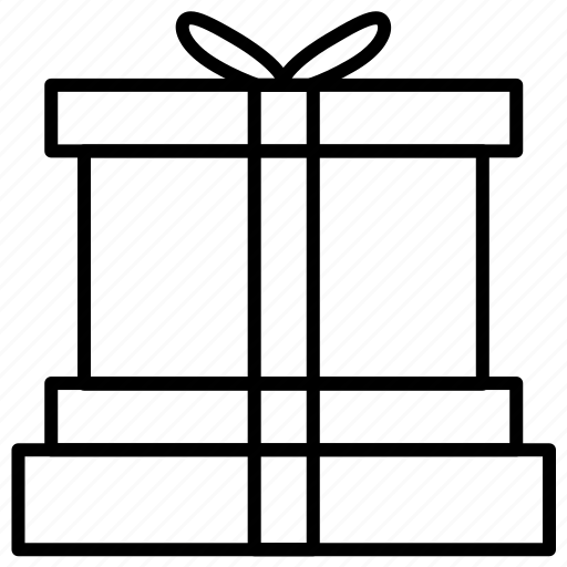 birthday, box, gift, giftbox icon