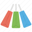 grocery bag, paper bag, plenty of shopping, purchasing shopper, shopping bag, tote bag icon