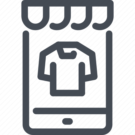 mobile, online, phone, product, shop, shopping, store icon
