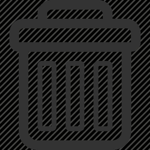 bin, delete, dustbin, recycle, recycle bin, trash, trash bin icon
